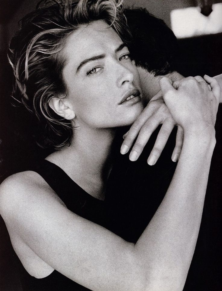 ☆ Tatjana Patitz | Photography by Patrick Demarchelier | For Vogue Magazine…
