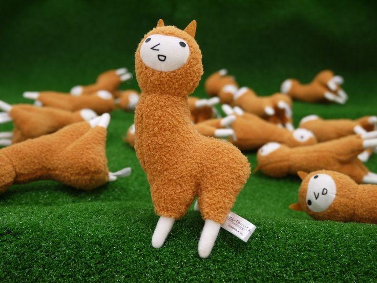 アルパカにいさん Alpaca bro. creepy/kawaii character for iPhone/Android game