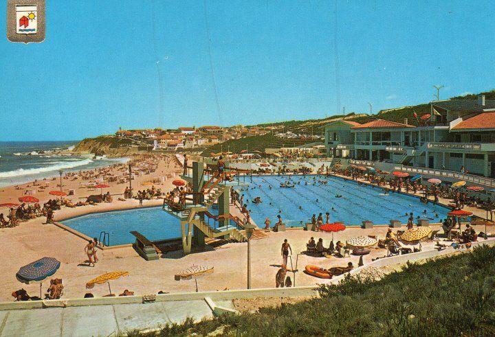 Piscinas em 1971 -  São Pedro de Moel - Portugal