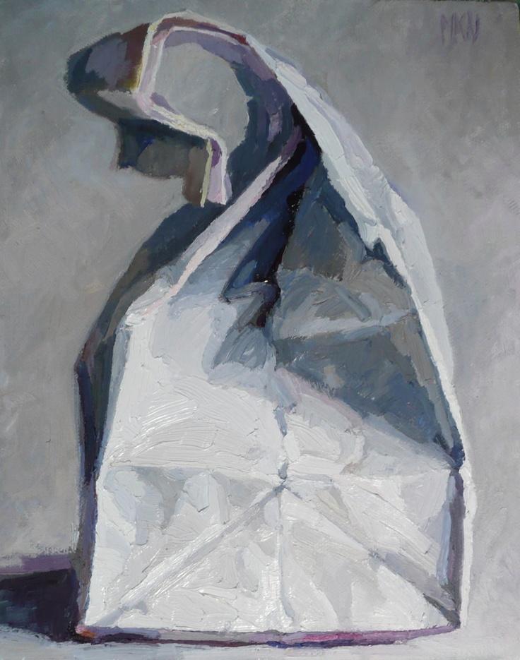 karen appleton paintings — White