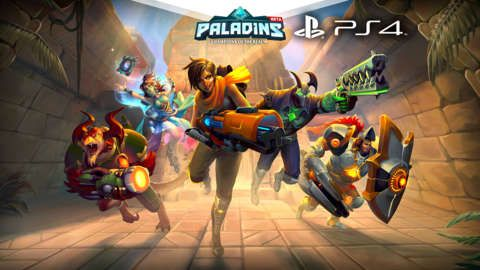 We've teamed up with Hi-Rez Studios to give away 5,000 closed beta keys for Paladins to redeem on PS4 (Europe, Australia and New Zealand ONLY). This is an instant win and you will receive an email with the code within 24 hours. If you're a reader based in North America, South...