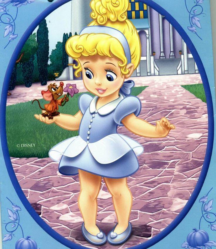 As Princesas bebês da Disney