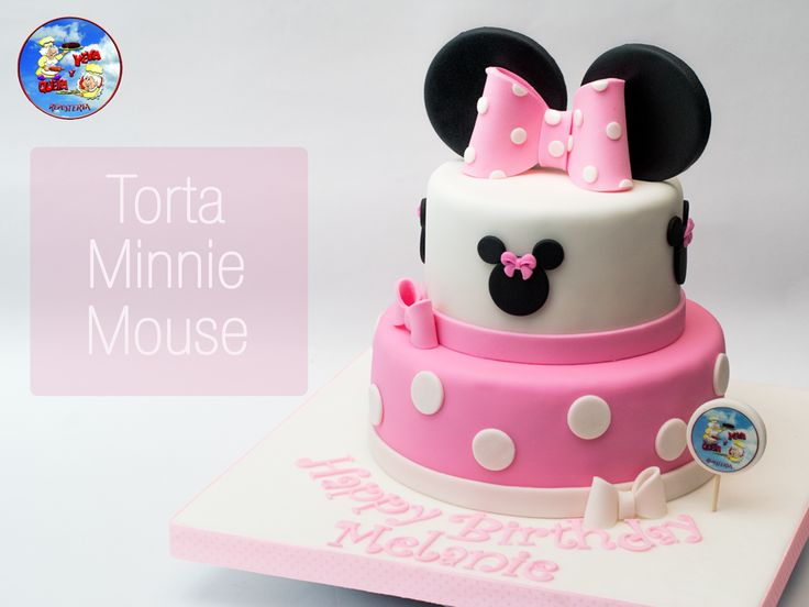 Minnie mouse cake - torta minnie mouse - torta minnie - minnie cake