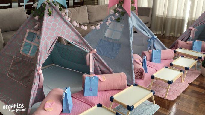 Festa do Pijama Decor Organize sem Frescuras   Rafaela Oliveira