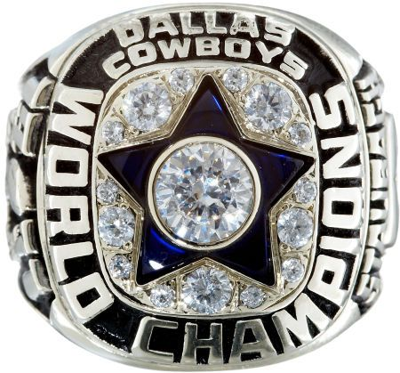 1971 Dallas Cowboys Super Bowl Championship Ring