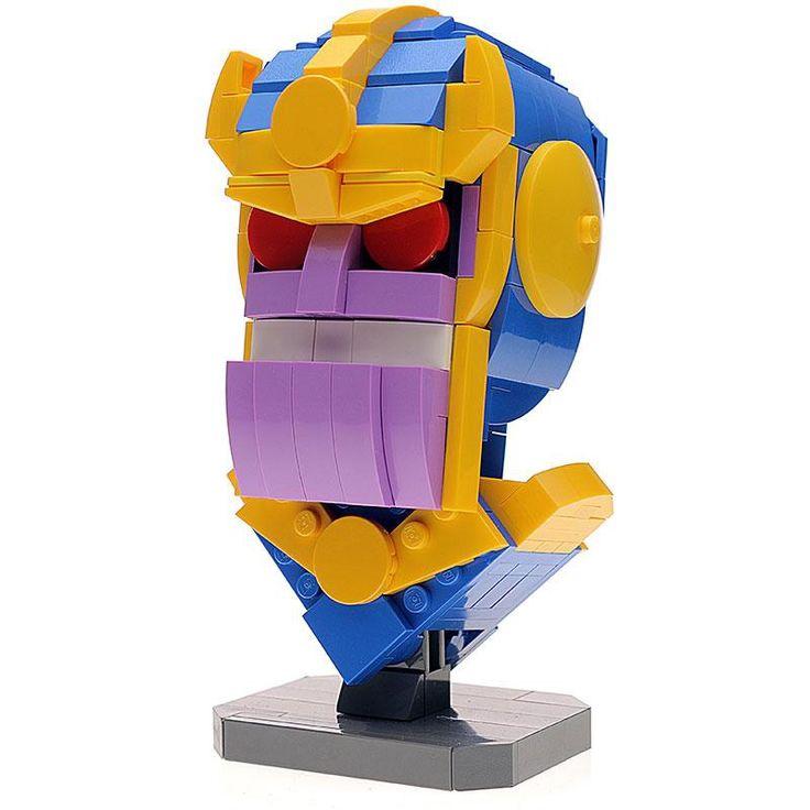 Custom LEGO Thanos MOC by buildbetterbricks https://rebrickable.com/mocs/MOC-12367/buildbetterbricks/custom-lego-thanos-moc/?utm_content=buffer6d8dc&utm_medium=social&utm_source=pinterest.com&utm_campaign=buffer #lego