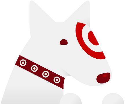 Bulls eye the Target dog