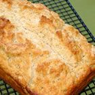 Beer Bread.  So easy!  A favorite in this house!  I usually add a bit of garlic, too.  :)Beer Bread
