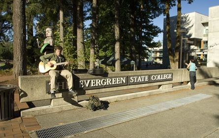 Top 10 Unusual United States Colleges - Evergreen, located in Olympia, Washington, recognizes that students have changing interests and so allows each student to design their own Academic Plan.