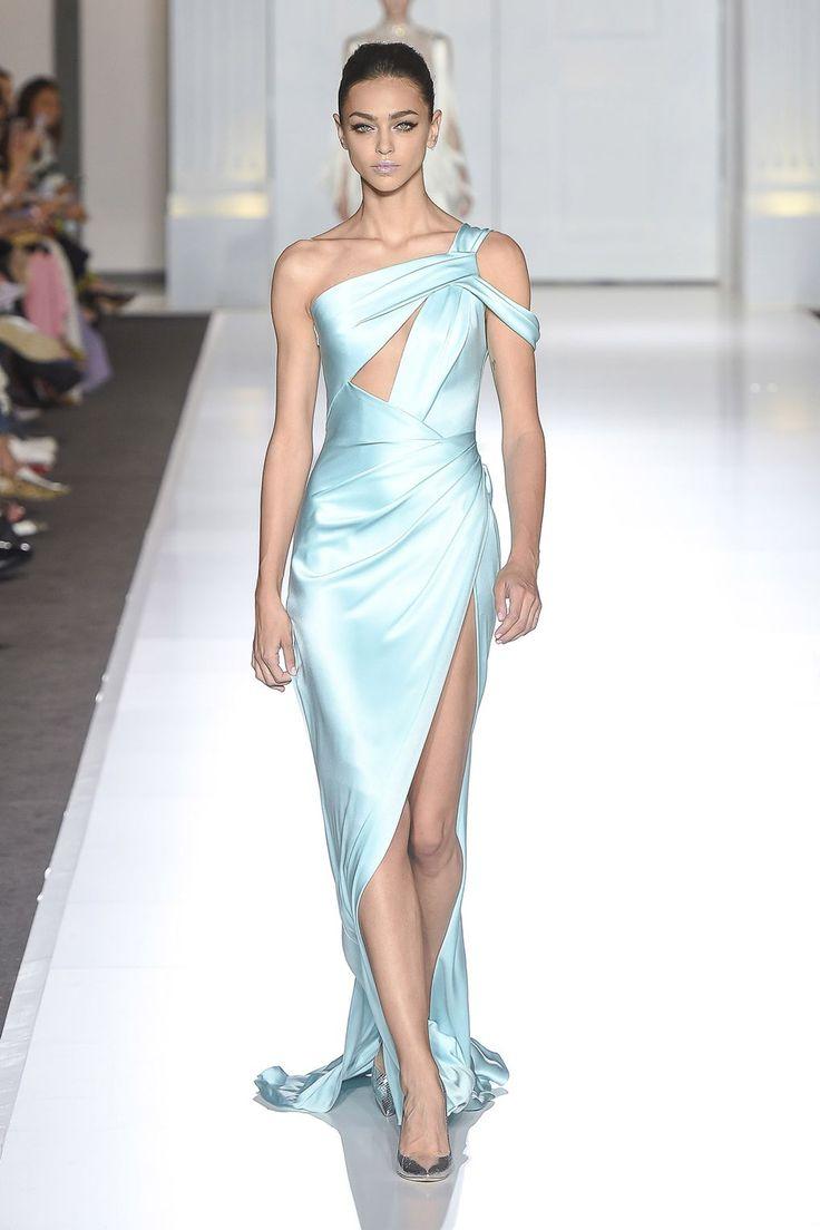 Ralph & Russo Autumn/Winter 2017 Haute Couture - Look 46