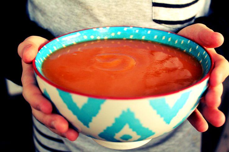 Pumpkin, Sweet Potato & Potato Soup.