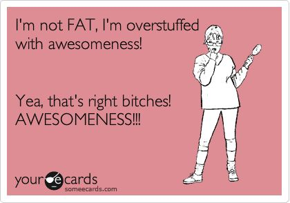 Overstuffed with AWESOMENESS!!!