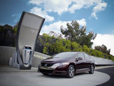 Honda develops hydrogen refueling station for home