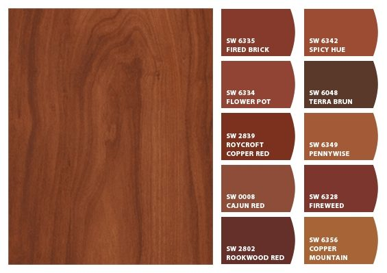 Chip It Colors For Formica 174 Laminate 9240 Cherry Heartwood