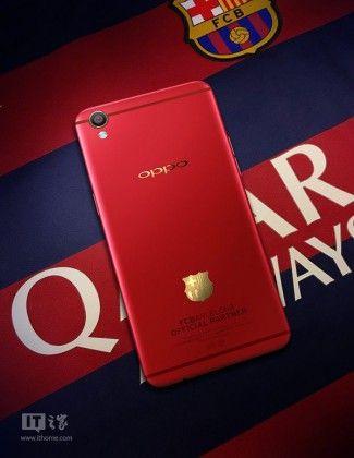 In arrivo Oppo R9 e Oppo F1 Plus FC Barcellona Edition http://www.sapereweb.it/in-arrivo-oppo-r9-e-oppo-f1-plus-fc-barcellona-edition/        Attraverso le prime immagini provenienti dai social cinesi possiamo dare un'occhiata adOppo R9 FC Barcellona Edition, identico ad R9 standard, ma in più ci sarà il logo della squadra spagnolasulla scocca posteriore, contenuti a tema e personalizzazioni per l'interfaccia utente. Oppo ha...