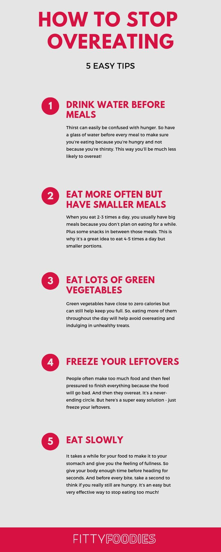 How To Stop Overeating: 5 Easy Tips