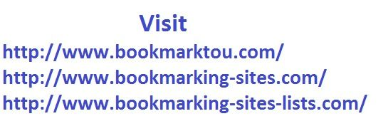 DoFollow Active Social Bookmarking Sites March 2014