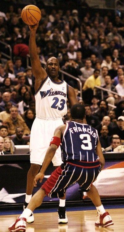 Michael Jordan & Steve Francis