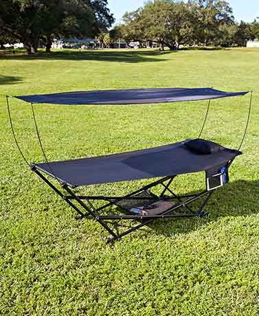 The Bliss Portable Hammock with Canopy is the ideal way to kick back and relax whether & Best 25+ Hammock with canopy ideas on Pinterest | Camping tent ...