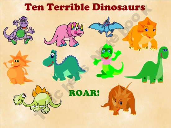 dinosaurs lesson plan for preschool free smartboard interactive for ten terrible dinosaurs by 938