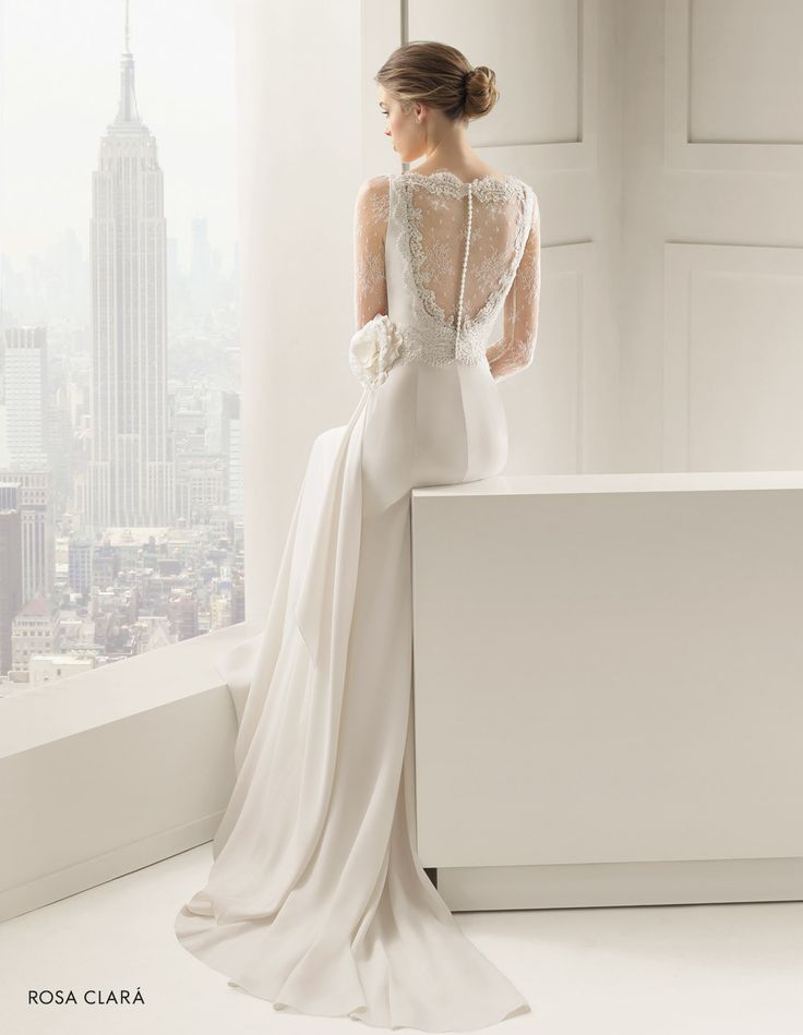 CHIC ROSA CLARÀ-27 Lavorazioni #artigianali e #tagli perfetti su abiti ed accessori, per #matrimoni di grande classe. www.mariages.it
