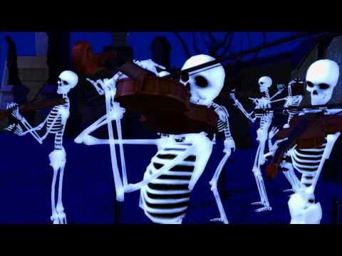 Danse Macabre 2010 (Saint-Saëns) - YouTube >>> Look at use of repetition. Choreography / formations. Block mostly.