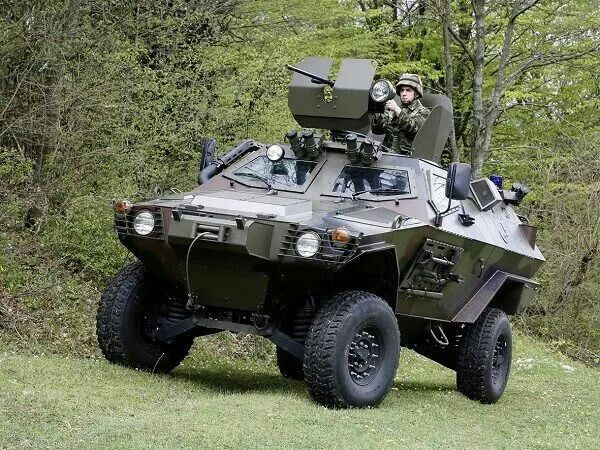 Armed vehicle