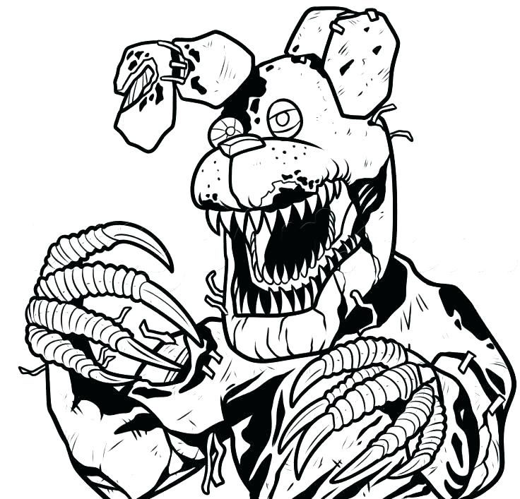 Have Fun With Fnaf Coloring Pages Fnaf Coloring Pages Enchanted