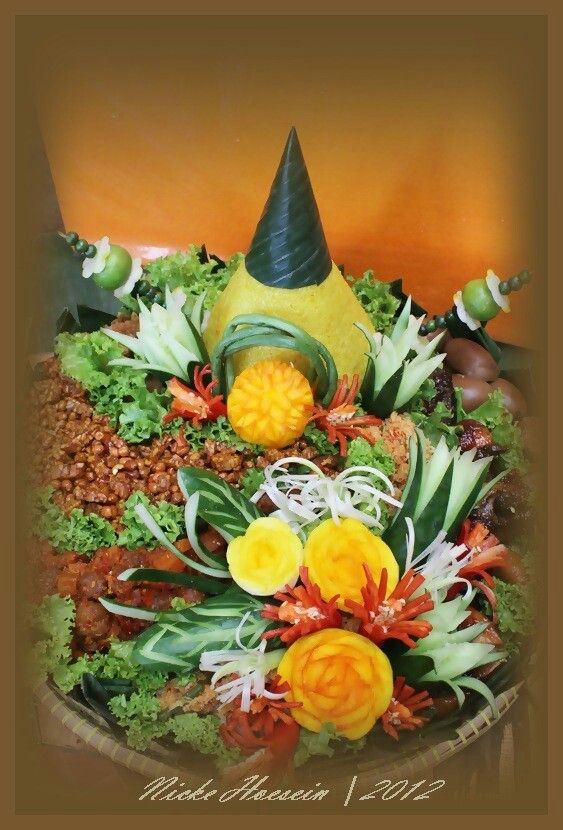 67 best images about nasi tumpeng on pinterest