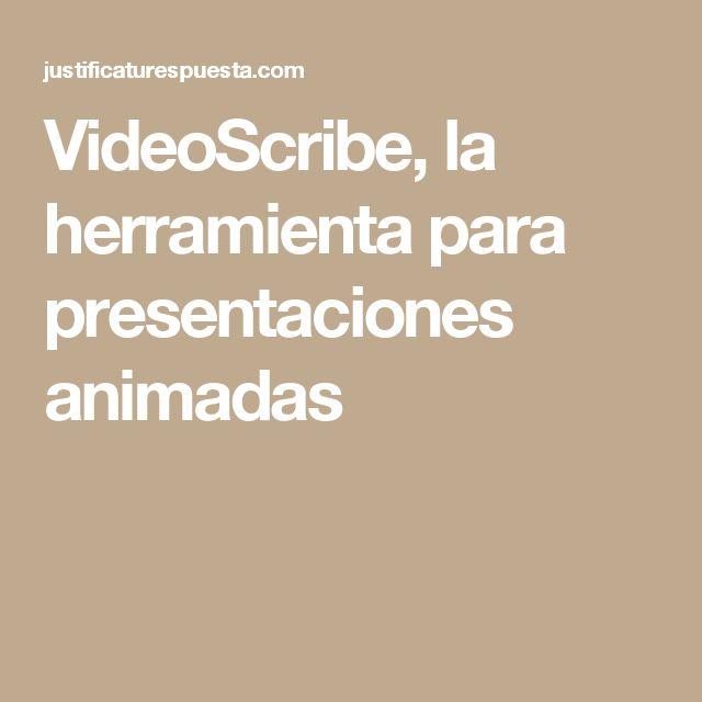 VideoScribe, la herramienta para presentaciones animadas