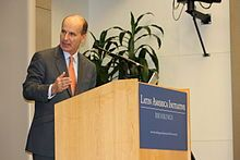 Brookings Institution -José María Figueres, former President of Costa Rica, speaking at Brookings Institution