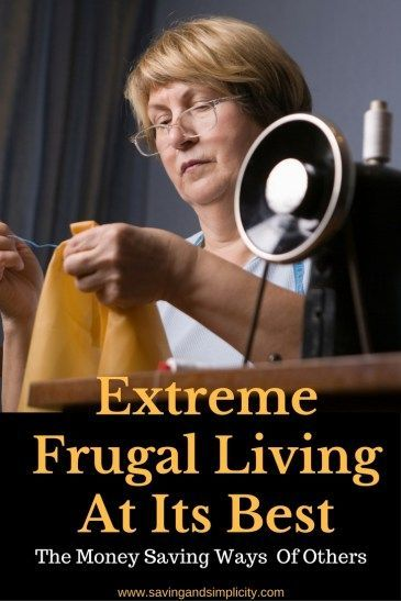 Extreme Frugal Tips