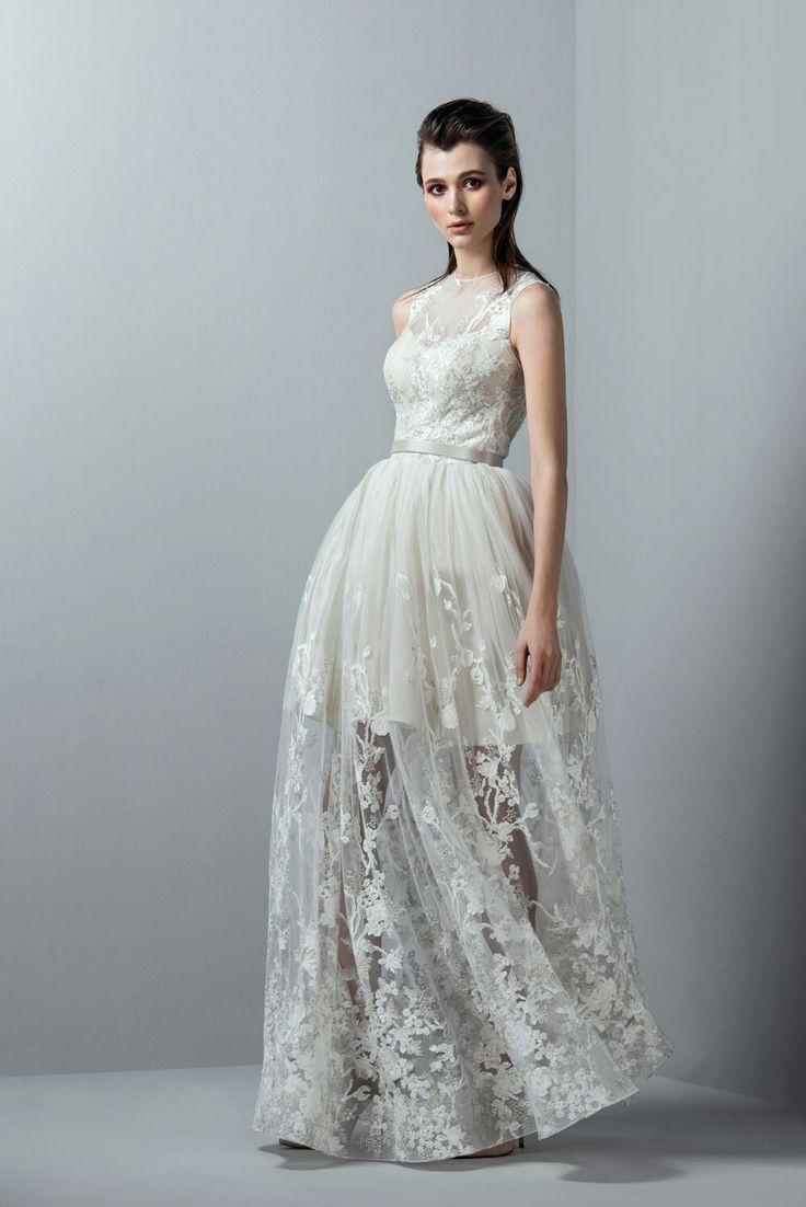 59 best Tulle Wedding Dresses images on Pinterest | Beach wedding ...