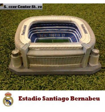 Precio [€29,00] Réplica estadio Santiago Bernabeu, del Real Madrid club de fútbol #santiagobernabeu #realmadrid #estadio #cr7 #futbol #soccercenterstore