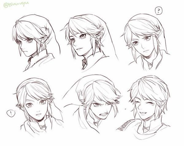 Link Expressions : Hyrule Warrior By Tsuuuyu<<<< I FINALLY GOT THIS GAME YIIISSSSS YYYIIISSSS