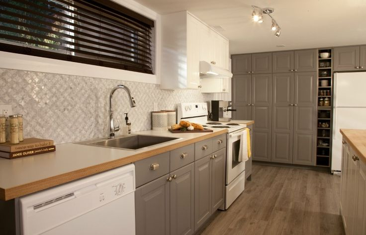 Cheryl and Amreed's new basement kitchen #IncomeProperty #Kitchens
