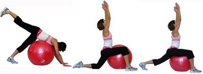 Yoga Workout - 16 Poses on the Exercise Ball: Yoga Workout on the Exercise Ball