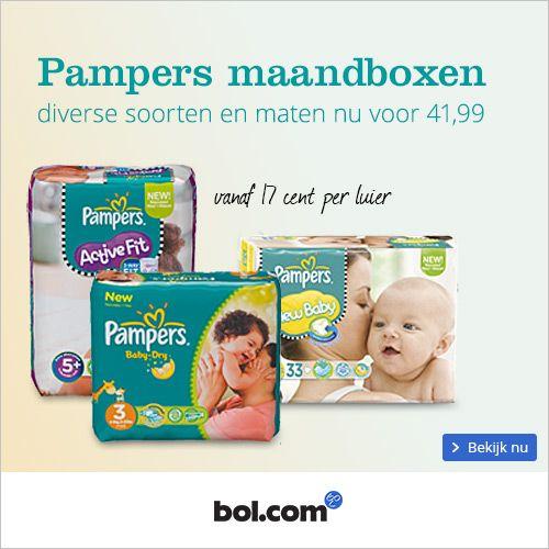 Pampers maandbox actie december 2014