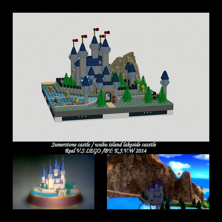 Sumerstone castle/Lakeside castle and Wuhu Island belongs to Nintendo. (except wedding since it was an idea of mine)