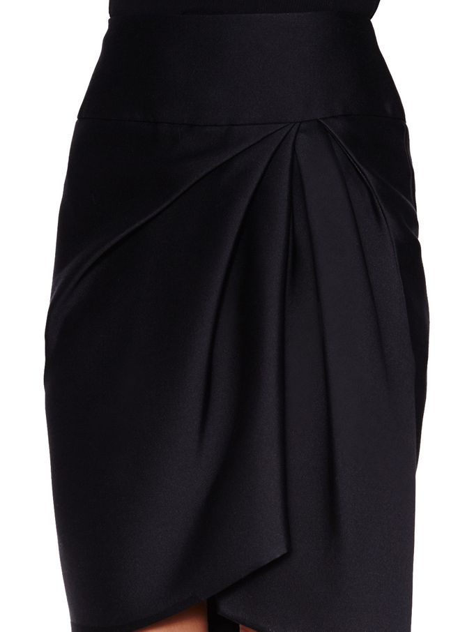 Silk Pleated Pencil Skirt from Get the New York Fashion Week Look on Gilt