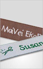 Fabricant d'étiquettes tissées Made in France (recommandé par La petite cabane de Mavalda)