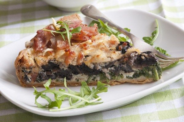 Spinach and Bacon Quiche http://recipes-only.com/spinach-and-bacon-quiche/