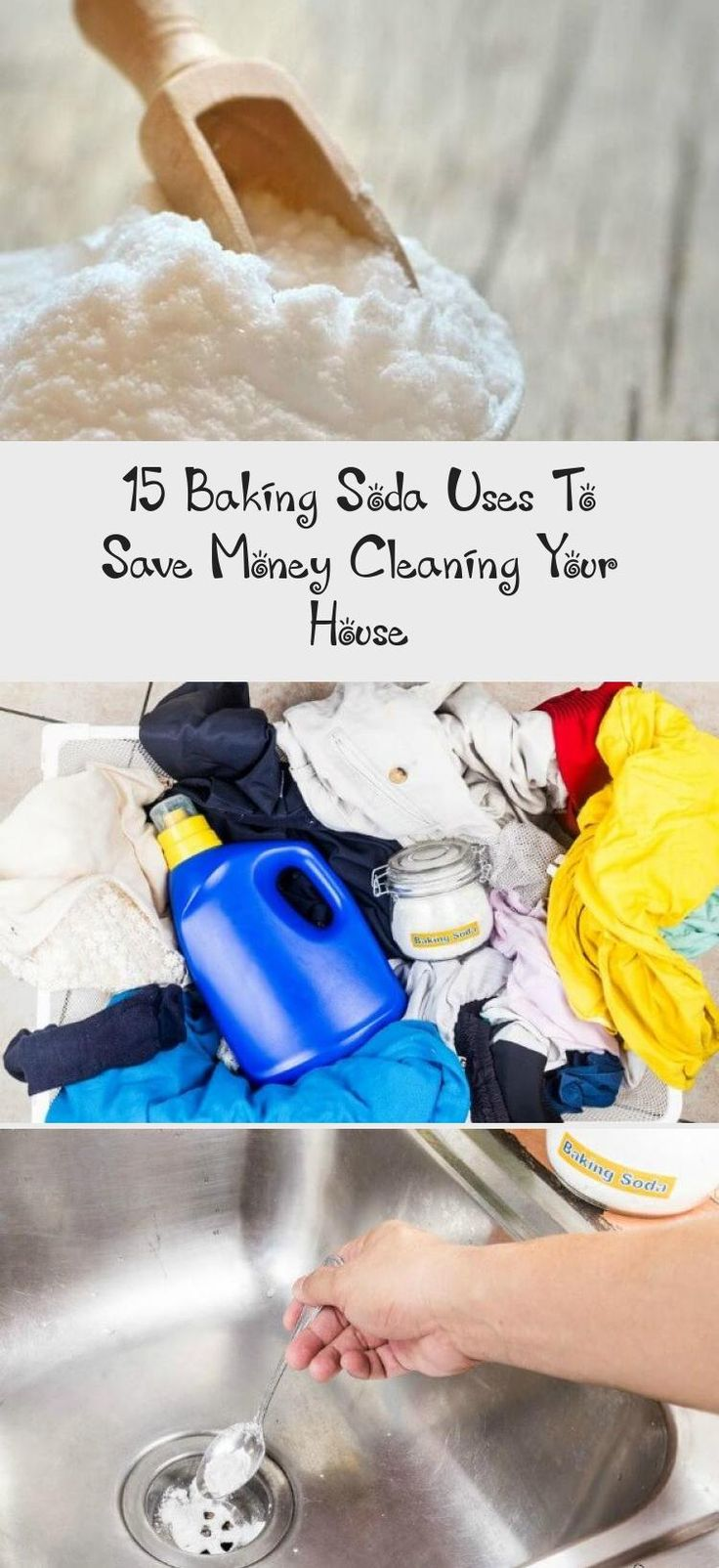 15 Great Uses for Baking Soda to clean your home that are
