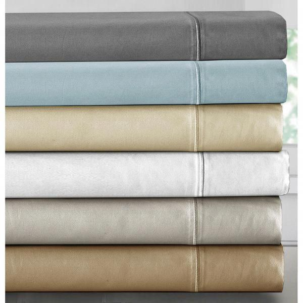 Luxury 1000 Thread Count Deep Pocket Cotton Rich Sheet Set I Would Love To Have Just
