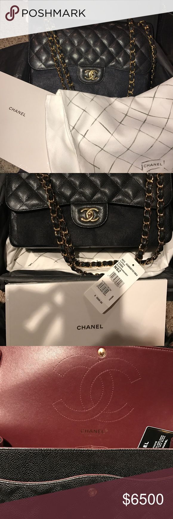 Chanel classic jumbo Chanel classic jumbo double flap bag new and authentic comes with dust cover and box.  No trades CHANEL Bags Shoulder Bags