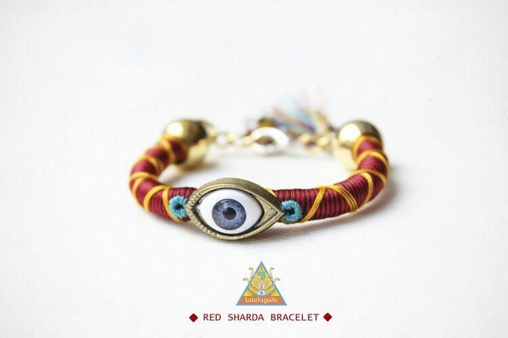 Red sharda bracelet