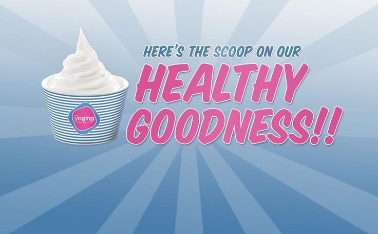 frozen yogurt by Yoging