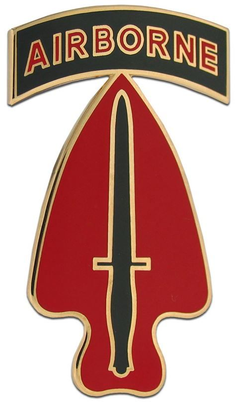 SPECIAL OPERATIONS COMMAND BRAGG, COMBAT SERVICE IDENTIFICATION BADGE
