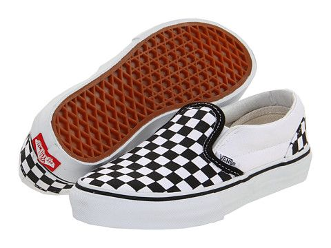 Vans Kids Classic Slip-On Core (Toddler/Youth) - Zappos.com Free Shipping BOTH Ways