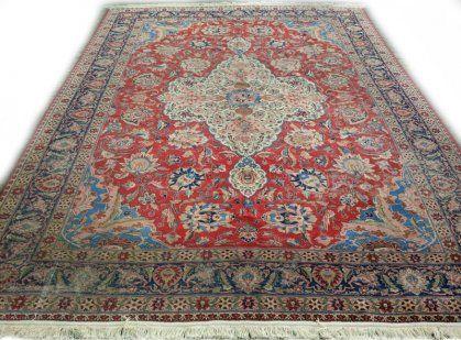 Prachtig Vintage Perzisch Tapijt Tabriz